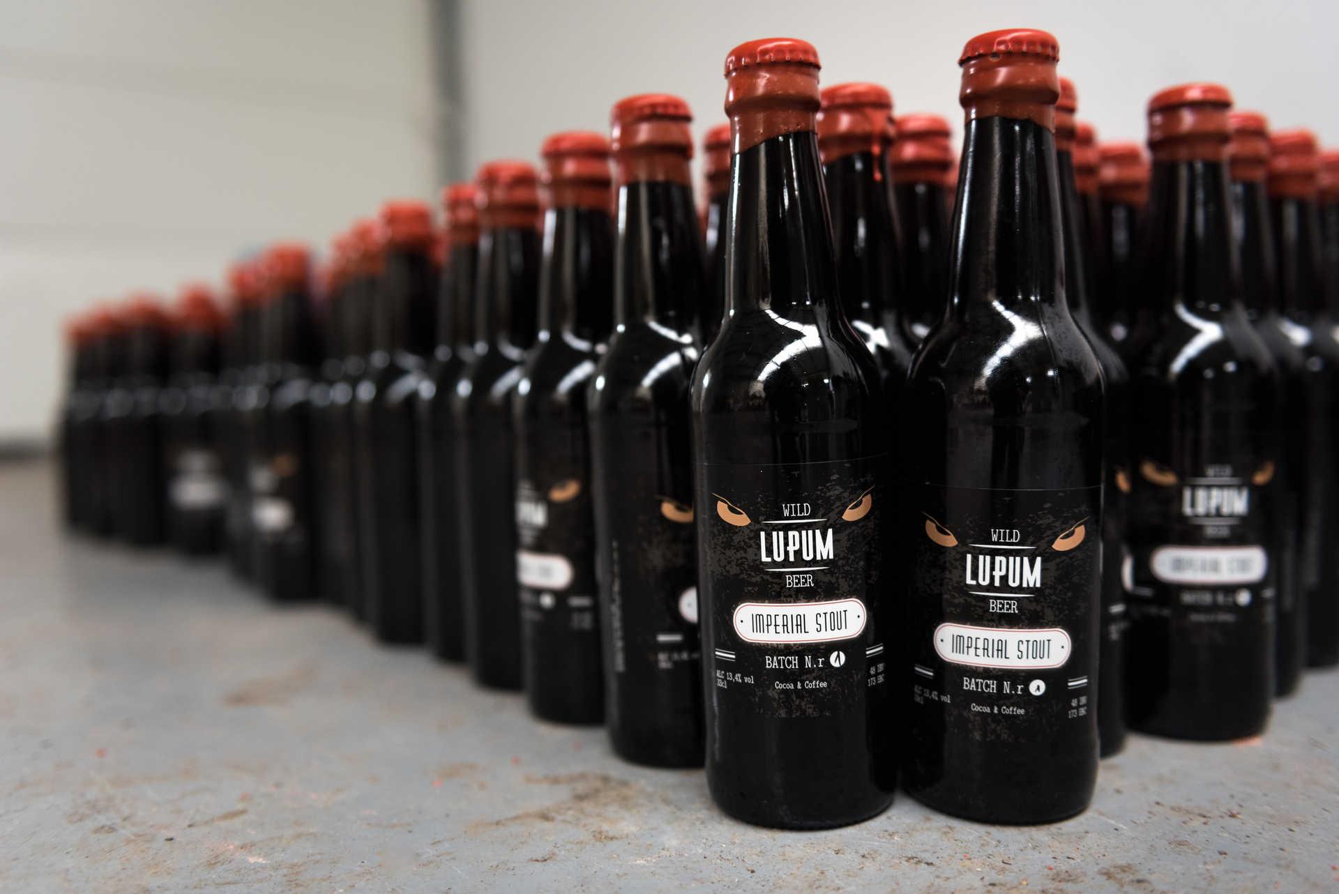 Cerveja artesanal Lupum António Lopes