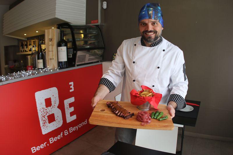 Restaurante Beer, Beef & Beyond
