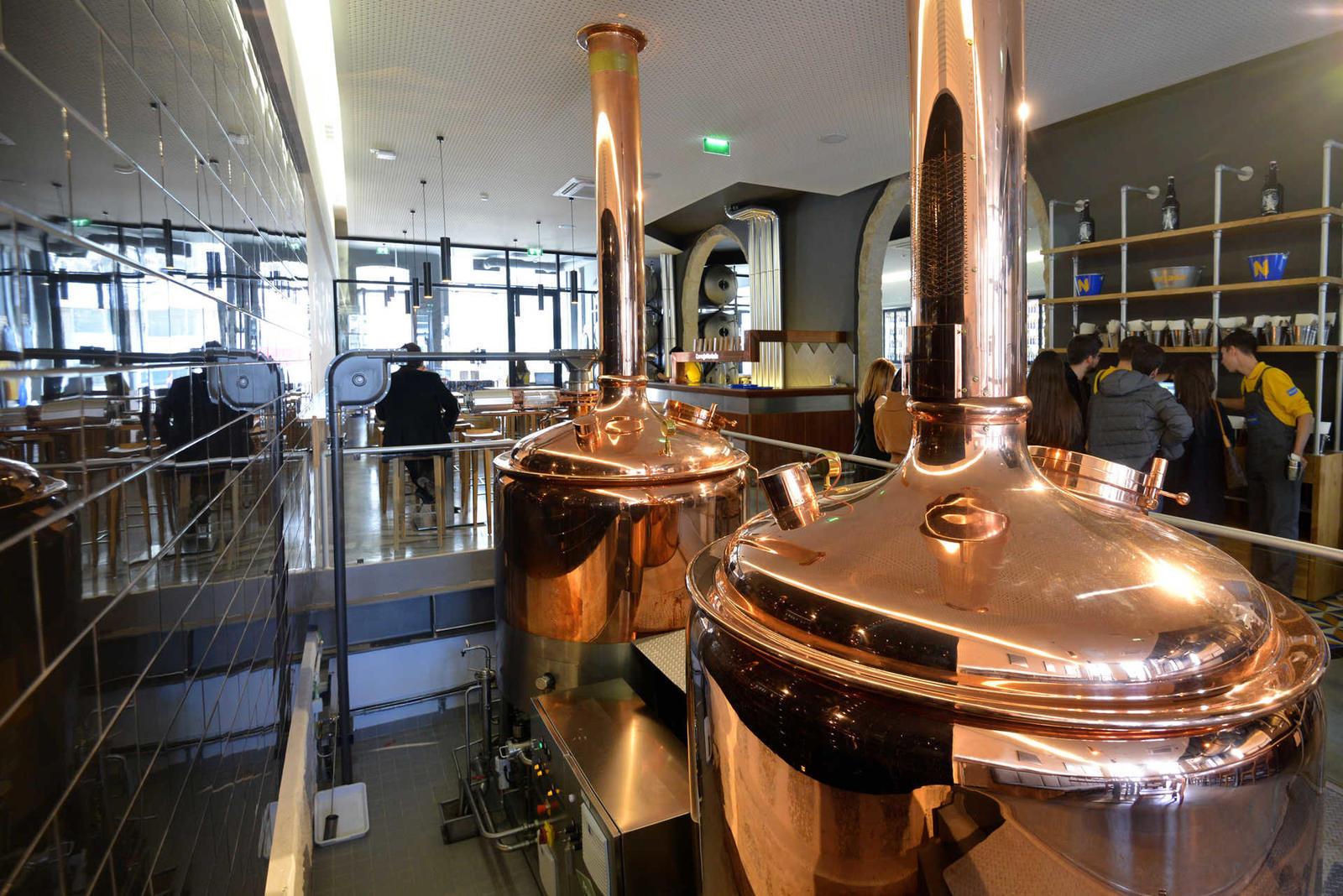 Fábrica de Cervejas Portuense é espaço com cervejaria e restaurante no Porto